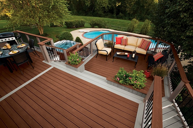 Home Formal decking