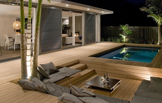 Home Pool decking