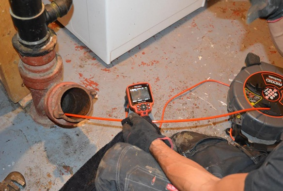 Plumber Cleaning services