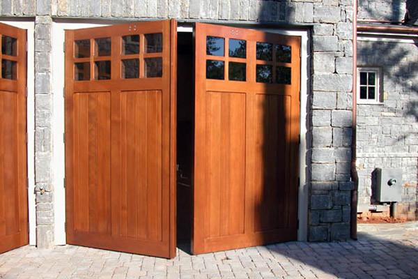 Swing-Out Garage Doors